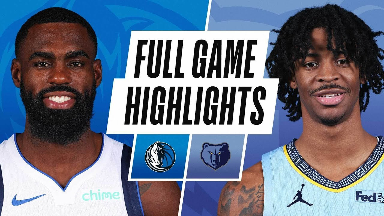 MAVERICKS at GRIZZLIES | FULL GAME HIGHLIGHTS | May 11, 2021