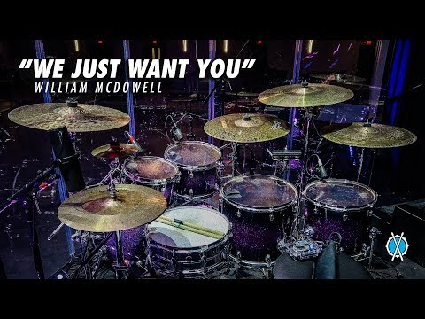 We Just Want You Drum Cover // William McDowell // Daniel Bernard