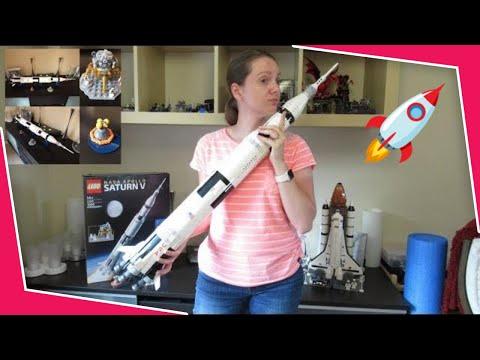 LEGO NASA Apollo Saturn V Ideas 21309 Time-lapse build - UCqaCl7-sDE5_-0kPXBe_ODg