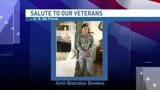 Salute to our veterans: Airman Brandon Bowers - NBC 15 WPMI