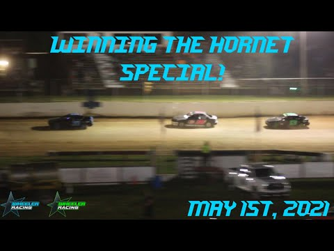 Winning the Hornet Special at Twin Cities! | Hornet Racing - dirt track racing video image