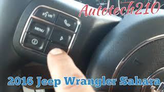 Azzeramento spia olio Jeep Wrangler 2007-2018
