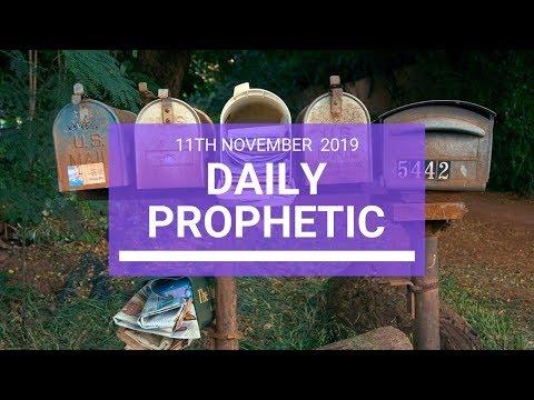 Daily Prophetic 11  November Word 3
