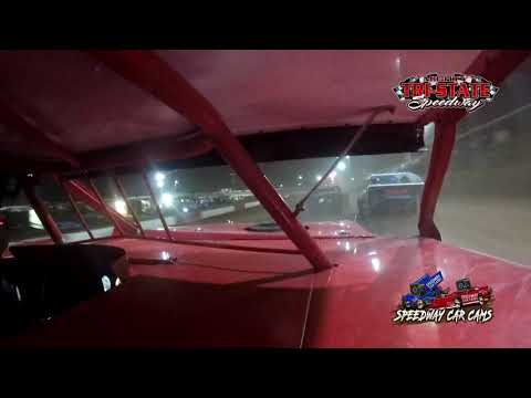 #D97Devin Barker - USRA B Mod - 6-12-2021 Tri-State Speedway - In Car Camera - dirt track racing video image