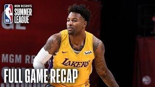 LAKERS vs WARRIORS | Cali Showdown Comes Down to The Last Shot | MGM Resorts NBA Summer League
