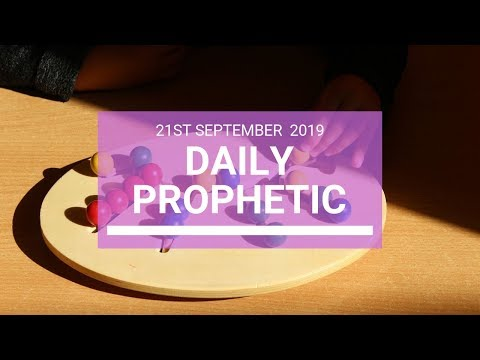 Daily Prophetic 21 September 2019   Word 4