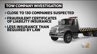 Towing Industry Accused Of Fraud