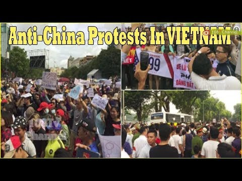 Anti-China protests: dozens arrested as Vietnam patriotism spirals into unrest[108Tv]