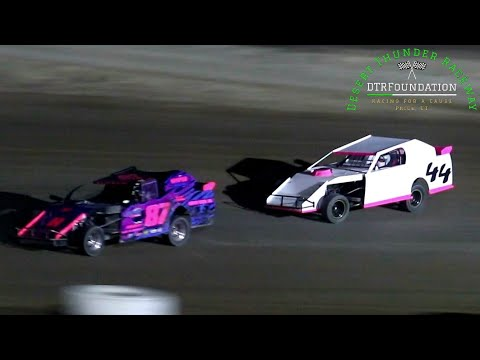 Desert Thunder Raceway IMCA Northern SportMod Main Event 8/27/21 - dirt track racing video image