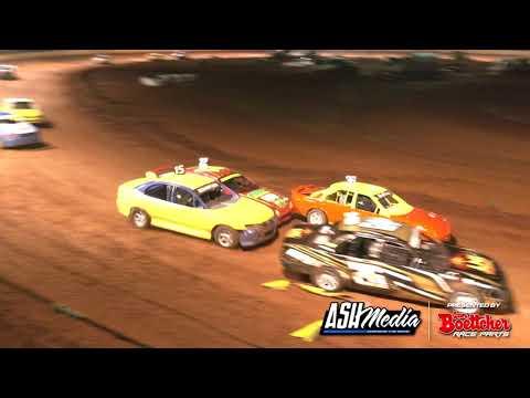 Production Sedans: IBRP Series - A-Main - Maryborough Speedway - 24.10.2020 - dirt track racing video image
