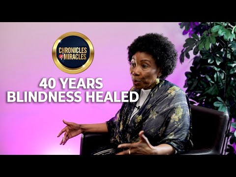 40 years blindness healed  Mrs. Alberta  Chronicles Of Miracles  SO1 - EP5