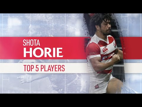 Shota Horie's top five rugby players!