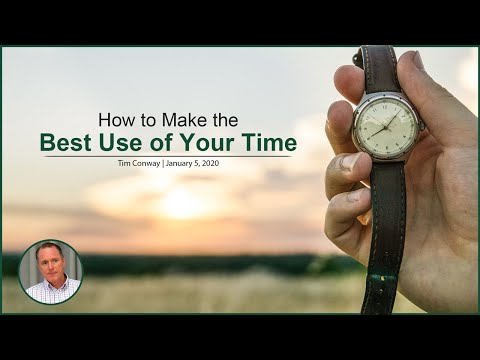 How to Make the Best Use of Your Time - Tim Conway