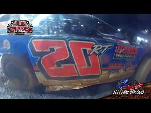 #20RT Ricky Thornton Jr - Super Late Model - 8-6-21 Ponderosa Speedway - In-Car Camera - dirt track racing video image