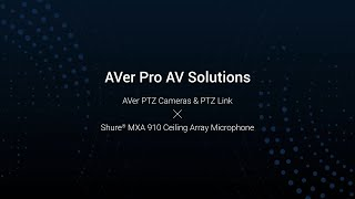 AVer PTZ Link & Shure Microphone