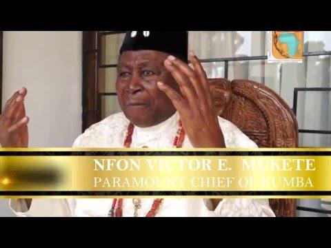 CERDOTOLA : Inside Bafaw Palace, with Nfon Victor E. Mukete
