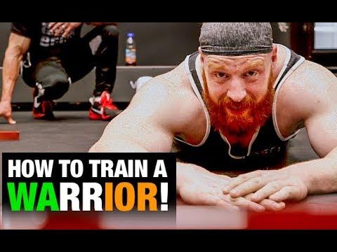 WWE Sheamus Workout (BEHIND THE SCENES!) - UCe0TLA0EsQbE-MjuHXevj2A
