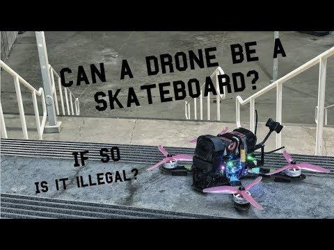 FPV Drone Imitates Skateboard (illegal?) - UCQEqPV0AwJ6mQYLmSO0rcNA