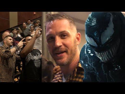 Tom Hardy Surprises Fans at a Venom Screening - UCKy1dAqELo0zrOtPkf0eTMw