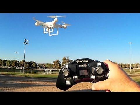 CheerWing CW4 Camera Drone Flight Test Review, The X5C Successor! - UC90A4JdsSoFm1Okfu0DHTuQ