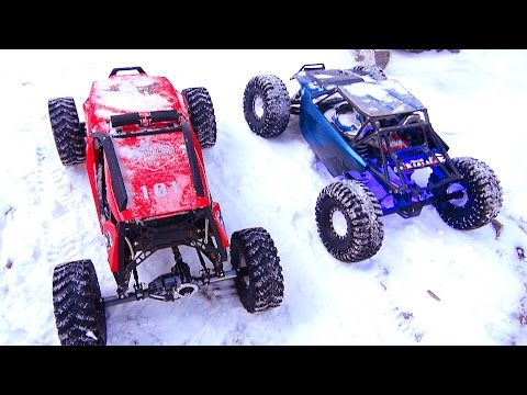 RC ADVENTURES - Crazy Canadians Extreme Winter Trail Trucking in Kananaskis - RC Trucks in Snow! - UCxcjVHL-2o3D6Q9esu05a1Q