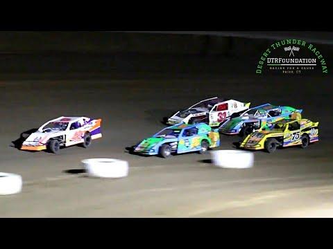Desert Thunder Raceway IMCA Northern SportMod Main Event 7/23/21 - dirt track racing video image