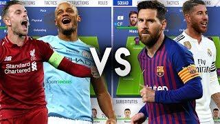 Premier League Captains VS La Liga Captains - FIFA 19 Experiment