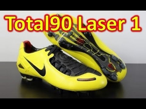 00b8180b6 Nike Total 90 Laser 1 Zest Yellow - Retro Unboxing + On Feet