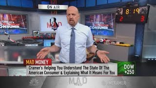 Cramer on shifting consumer spending habits and the state of retail