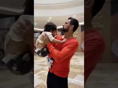 Shoaib Malik's Reunion With His Son