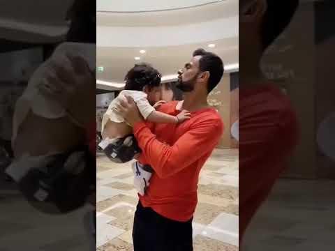 Shoaib Malik's Reunion With His Son