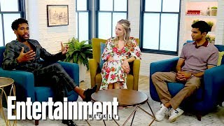 Four Weddings And A Funeral Cast Talk Working With Mindy Kaling | Entertainment Weekly