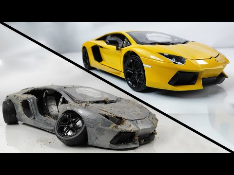 Restoration Damaged Lamborghini - Old SuperCar Aventador Model Car Restoration - UCGuRxaa0j_MEBd7MuIO5rwQ