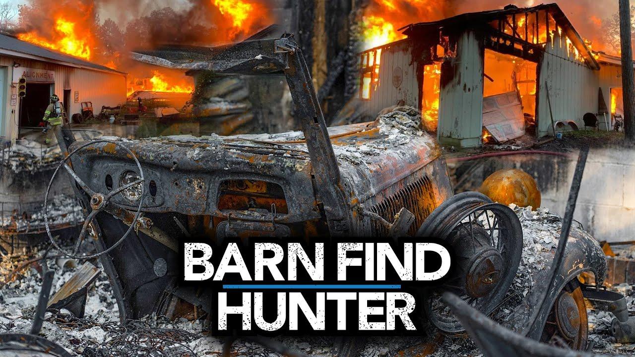Devastating LOSS for Classic Car Community: Rare restoration shop burns | Barn Find Hunter – Ep. 107
