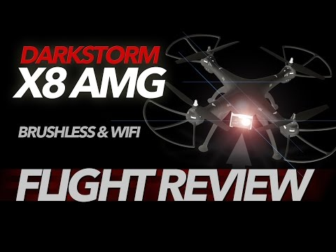 Darkstorm X8AMG - Brushless WIFI Quadcopter, Flight Review - UCwojJxGQ0SNeVV09mKlnonA