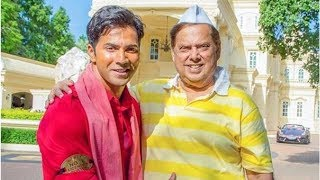 From Coolie No 1 sets, Varun Dhawan shares birthday wishes for 'Dad No 1' David Dhawan, see pic