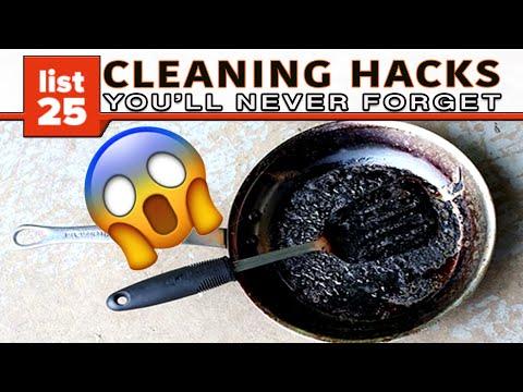 25 Cleaning Hacks You'll Wish You Knew Sooner - UCWqJpFqlX59OML324QIByZA