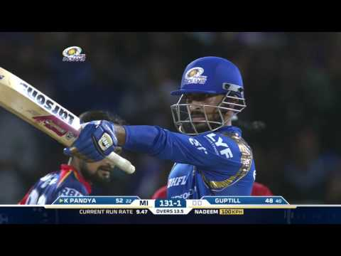 MI-DD: Krunal Pandya's blistering knock helps MI win - UC0PTktRYpZXb6On0_zFKWIg
