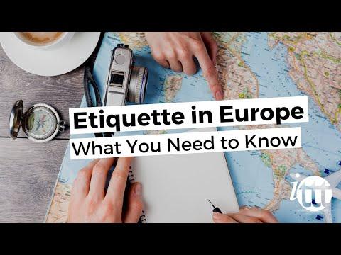 Etiquette Europe