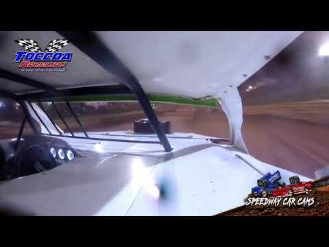 #73 Brian Nickerson - Open Wheel - 9-5-21 Toccoa Raceway - In-Car Camera - dirt track racing video image