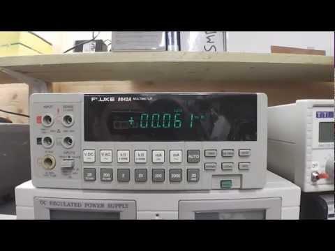 Fluke 8842A DMM Repair - default