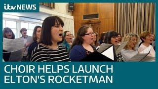 Crouch End Festival Chorus helps fuel soundtrack to Elton John's Rocketman | ITV News