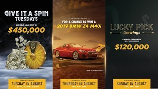 August Thrills at San Manuel Casino! [New Promotions & Giveaways]