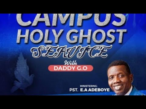 RCCG UNILAG SPECIAL HOLY GHOST SERVICE   LET THE FIRE FALL