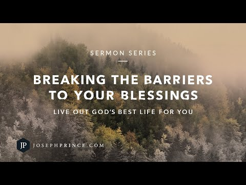 Breaking The Barriers To Your Blessings Trailer  Joseph Prince