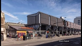 First supermarket to be given 'listed status' (UK) - BBC London News - 20th July 2019