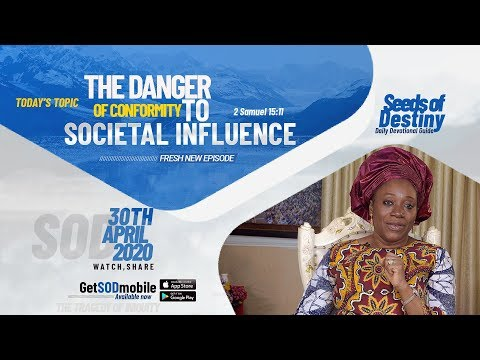 Dr Becky Paul-Enenche - SEEDS OF DESTINY  THURSDAY APRIL 30, 2020