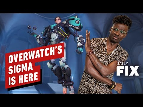 Overwatch's New Tank Sigma Doesn't Wear Shoes - IGN Daily Fix - UCKy1dAqELo0zrOtPkf0eTMw