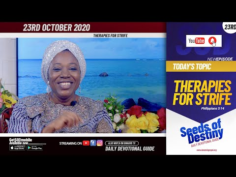 Dr Becky Paul-Enenche - SEEDS OF DESTINY - FRIDAY OCTOBER 23, 2020
