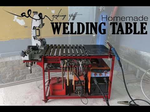 Homemade WELDING TABLE (rotary table) - UCPDzaG_uYHxBIFRA3LscU_Q
